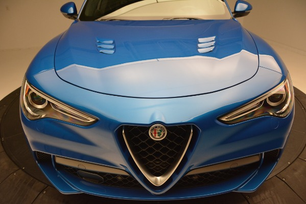 New 2019 Alfa Romeo Stelvio Quadrifoglio for sale $86,790 at Pagani of Greenwich in Greenwich CT 06830 27