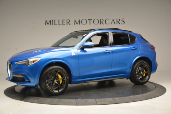 New 2019 Alfa Romeo Stelvio Quadrifoglio for sale $86,790 at Pagani of Greenwich in Greenwich CT 06830 3