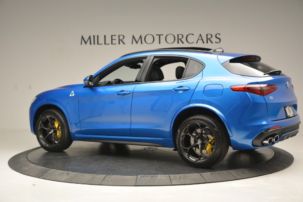 New 2019 Alfa Romeo Stelvio Quadrifoglio for sale $86,790 at Pagani of Greenwich in Greenwich CT 06830 6