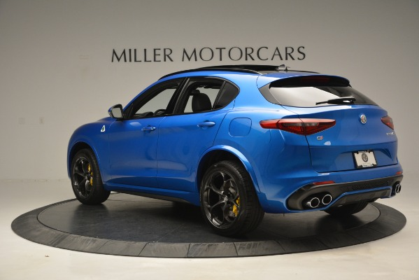 New 2019 Alfa Romeo Stelvio Quadrifoglio for sale $86,790 at Pagani of Greenwich in Greenwich CT 06830 7