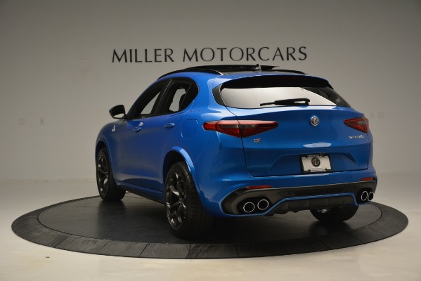 New 2019 Alfa Romeo Stelvio Quadrifoglio for sale $86,790 at Pagani of Greenwich in Greenwich CT 06830 8