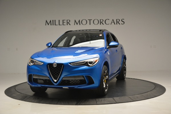 New 2019 Alfa Romeo Stelvio Quadrifoglio for sale $86,790 at Pagani of Greenwich in Greenwich CT 06830 1