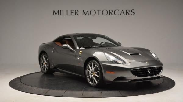 Used 2011 Ferrari California for sale Sold at Pagani of Greenwich in Greenwich CT 06830 22