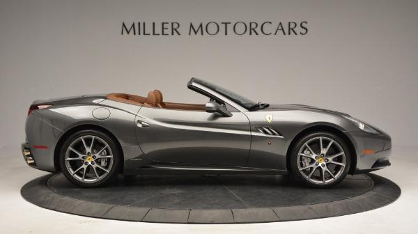 Used 2011 Ferrari California for sale Sold at Pagani of Greenwich in Greenwich CT 06830 8