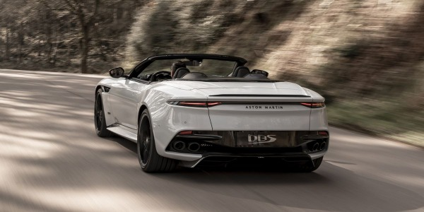 New 2020 Aston Martin DBS Convertible for sale Sold at Pagani of Greenwich in Greenwich CT 06830 3