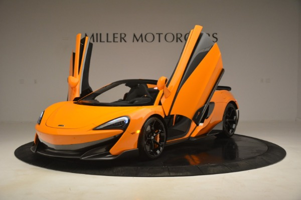 New 2020 McLaren 600LT Spider Convertible for sale Sold at Pagani of Greenwich in Greenwich CT 06830 14