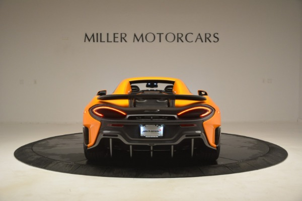 New 2020 McLaren 600LT Spider Convertible for sale Sold at Pagani of Greenwich in Greenwich CT 06830 18