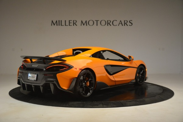 New 2020 McLaren 600LT Spider Convertible for sale Sold at Pagani of Greenwich in Greenwich CT 06830 19