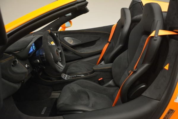 New 2020 McLaren 600LT Spider Convertible for sale Sold at Pagani of Greenwich in Greenwich CT 06830 25