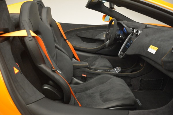 New 2020 McLaren 600LT Spider Convertible for sale Sold at Pagani of Greenwich in Greenwich CT 06830 28