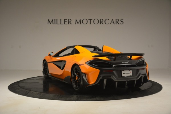 New 2020 McLaren 600LT Spider Convertible for sale Sold at Pagani of Greenwich in Greenwich CT 06830 5