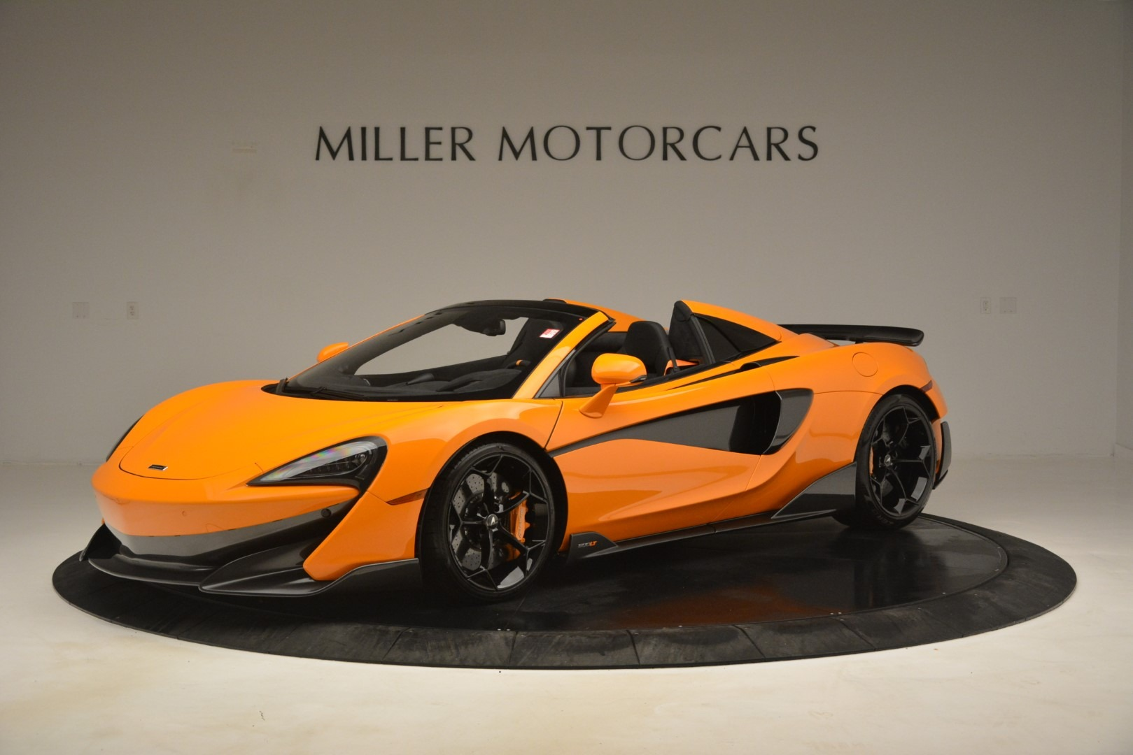 New 2020 McLaren 600LT Spider Convertible for sale Sold at Pagani of Greenwich in Greenwich CT 06830 1