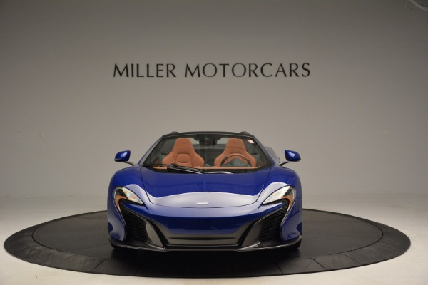 Used 2015 McLaren 650S Spider Convertible for sale Sold at Pagani of Greenwich in Greenwich CT 06830 12