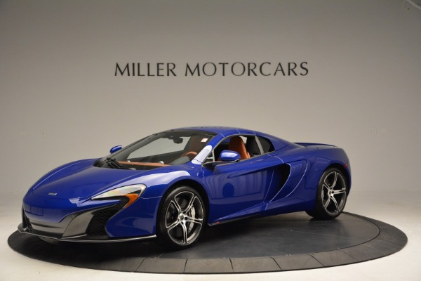 Used 2015 McLaren 650S Spider Convertible for sale Sold at Pagani of Greenwich in Greenwich CT 06830 14