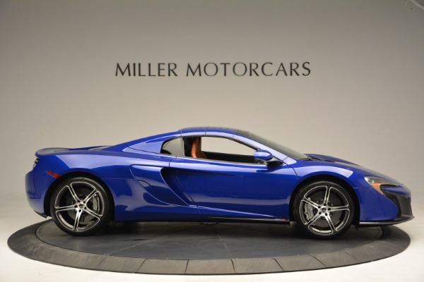 Used 2015 McLaren 650S Spider Convertible for sale Sold at Pagani of Greenwich in Greenwich CT 06830 19