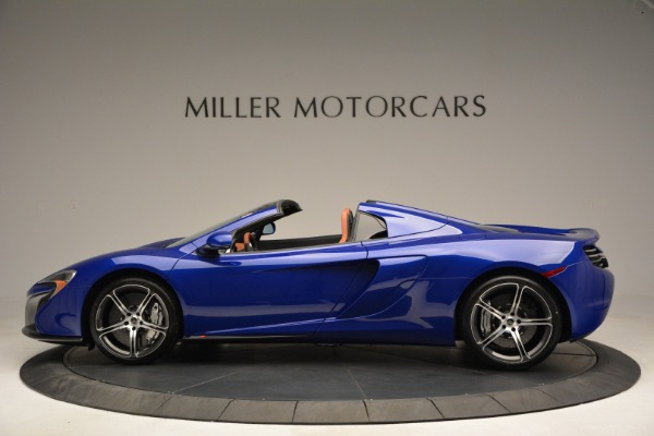 Used 2015 McLaren 650S Spider Convertible for sale Sold at Pagani of Greenwich in Greenwich CT 06830 3
