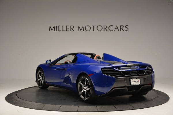 Used 2015 McLaren 650S Spider Convertible for sale Sold at Pagani of Greenwich in Greenwich CT 06830 5
