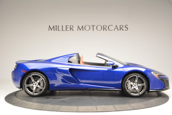 Used 2015 McLaren 650S Spider Convertible for sale Sold at Pagani of Greenwich in Greenwich CT 06830 9