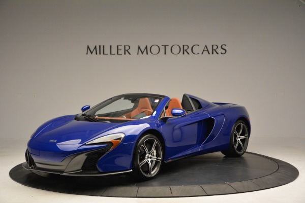 Used 2015 McLaren 650S Spider Convertible for sale Sold at Pagani of Greenwich in Greenwich CT 06830 1