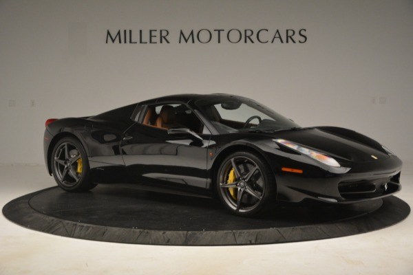 Used 2013 Ferrari 458 Spider for sale Sold at Pagani of Greenwich in Greenwich CT 06830 18