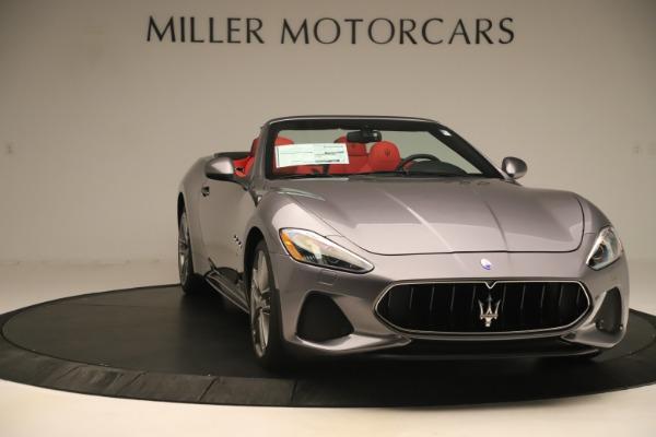 New 2018 Maserati GranTurismo Sport Convertible for sale $159,740 at Pagani of Greenwich in Greenwich CT 06830 11