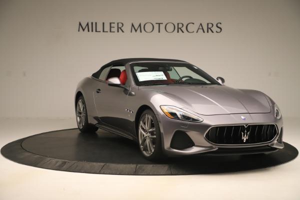 New 2018 Maserati GranTurismo Sport Convertible for sale $159,740 at Pagani of Greenwich in Greenwich CT 06830 18