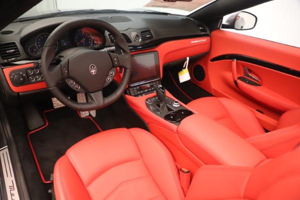 New 2018 Maserati GranTurismo Sport Convertible for sale $159,740 at Pagani of Greenwich in Greenwich CT 06830 19