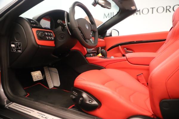 New 2018 Maserati GranTurismo Sport Convertible for sale $159,740 at Pagani of Greenwich in Greenwich CT 06830 20