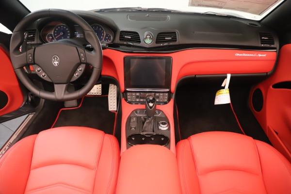 New 2018 Maserati GranTurismo Sport Convertible for sale $159,740 at Pagani of Greenwich in Greenwich CT 06830 22