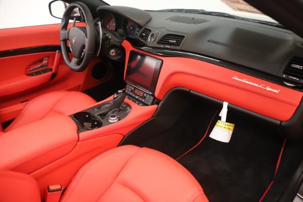 New 2018 Maserati GranTurismo Sport Convertible for sale $159,740 at Pagani of Greenwich in Greenwich CT 06830 26