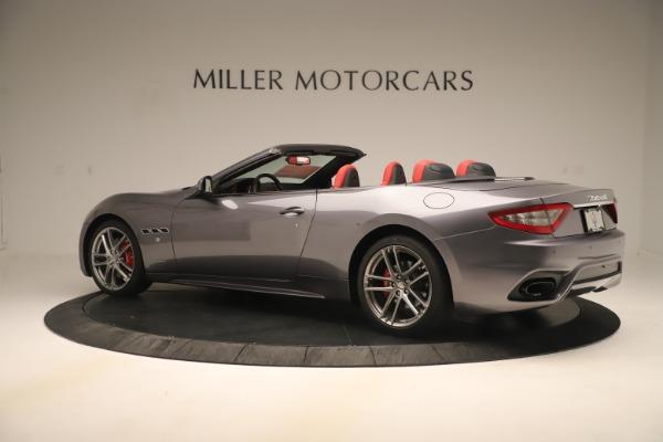 New 2018 Maserati GranTurismo Sport Convertible for sale $159,740 at Pagani of Greenwich in Greenwich CT 06830 4