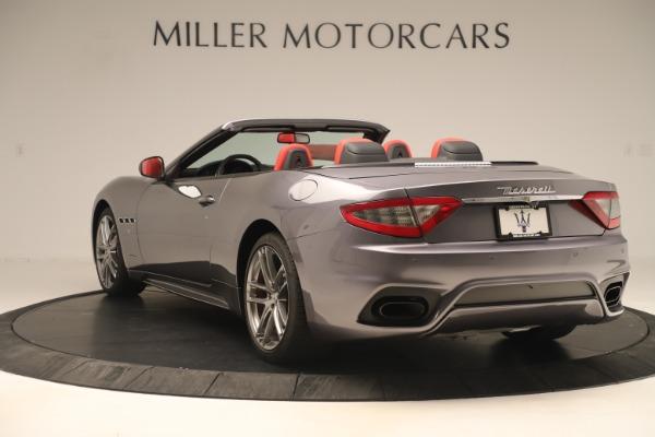 New 2018 Maserati GranTurismo Sport Convertible for sale $159,740 at Pagani of Greenwich in Greenwich CT 06830 5