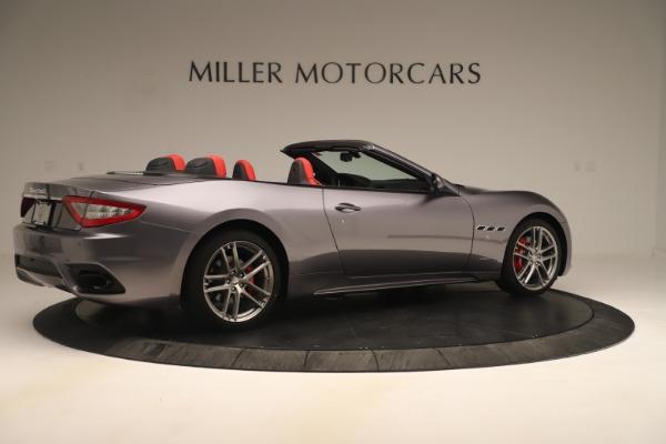 New 2018 Maserati GranTurismo Sport Convertible for sale $159,740 at Pagani of Greenwich in Greenwich CT 06830 8