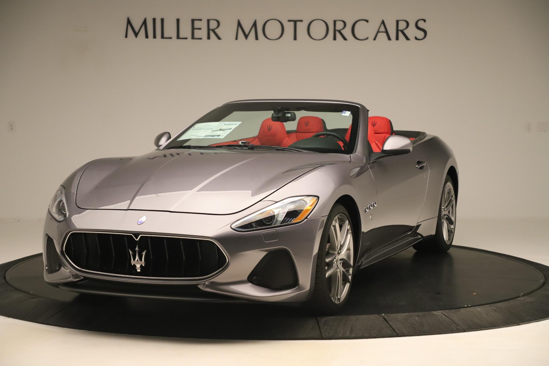 New 2018 Maserati GranTurismo Sport Convertible for sale $159,740 at Pagani of Greenwich in Greenwich CT 06830 1