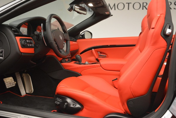 New 2018 Maserati GranTurismo Sport Convertible for sale Sold at Pagani of Greenwich in Greenwich CT 06830 26