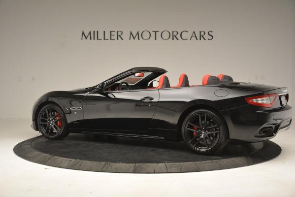 New 2018 Maserati GranTurismo Sport Convertible for sale Sold at Pagani of Greenwich in Greenwich CT 06830 7