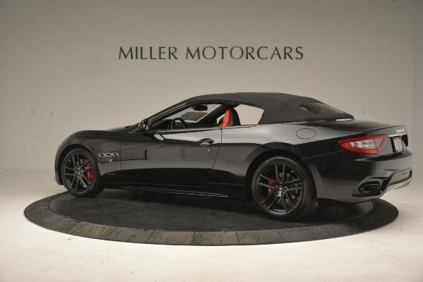 New 2018 Maserati GranTurismo Sport Convertible for sale Sold at Pagani of Greenwich in Greenwich CT 06830 8