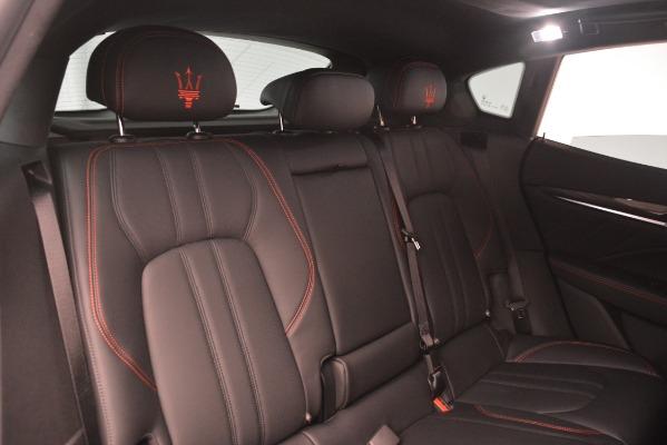 New 2019 Maserati Levante S Q4 GranSport for sale $103,440 at Pagani of Greenwich in Greenwich CT 06830 26