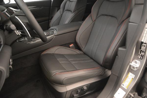 New 2019 Maserati Levante SQ4 GranSport Nerissimo for sale Sold at Pagani of Greenwich in Greenwich CT 06830 15
