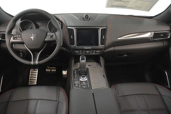 New 2019 Maserati Levante SQ4 GranSport Nerissimo for sale Sold at Pagani of Greenwich in Greenwich CT 06830 16
