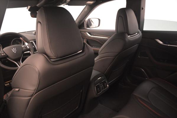 New 2019 Maserati Levante SQ4 GranSport Nerissimo for sale Sold at Pagani of Greenwich in Greenwich CT 06830 18