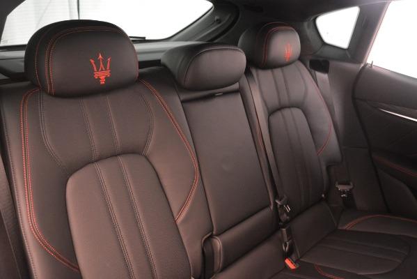 New 2019 Maserati Levante SQ4 GranSport Nerissimo for sale Sold at Pagani of Greenwich in Greenwich CT 06830 26