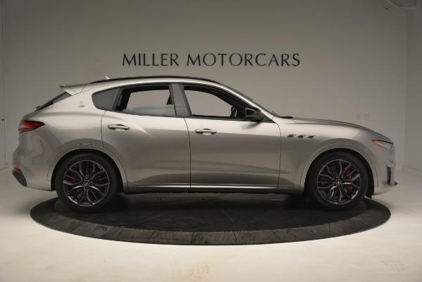 New 2019 Maserati Levante SQ4 GranSport Nerissimo for sale Sold at Pagani of Greenwich in Greenwich CT 06830 9