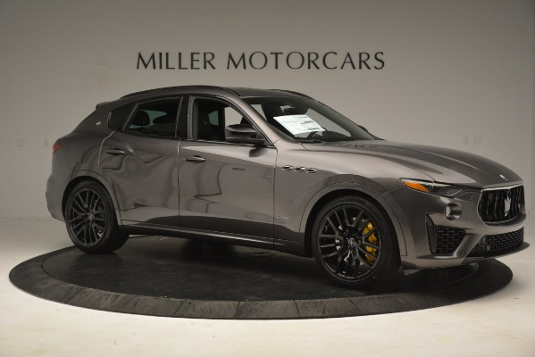 New 2019 Maserati Levante SQ4 GranSport Nerissimo for sale Sold at Pagani of Greenwich in Greenwich CT 06830 10