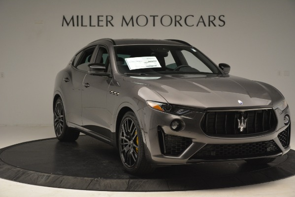 New 2019 Maserati Levante SQ4 GranSport Nerissimo for sale Sold at Pagani of Greenwich in Greenwich CT 06830 11