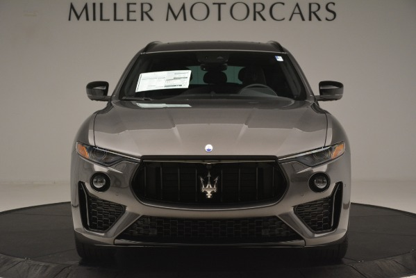 New 2019 Maserati Levante SQ4 GranSport Nerissimo for sale Sold at Pagani of Greenwich in Greenwich CT 06830 12