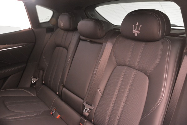 New 2019 Maserati Levante SQ4 GranSport Nerissimo for sale Sold at Pagani of Greenwich in Greenwich CT 06830 18