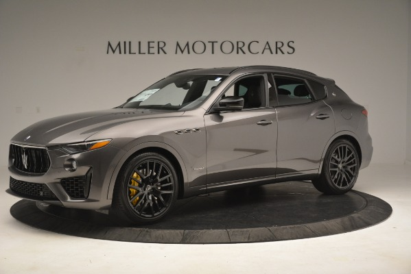 New 2019 Maserati Levante SQ4 GranSport Nerissimo for sale Sold at Pagani of Greenwich in Greenwich CT 06830 2