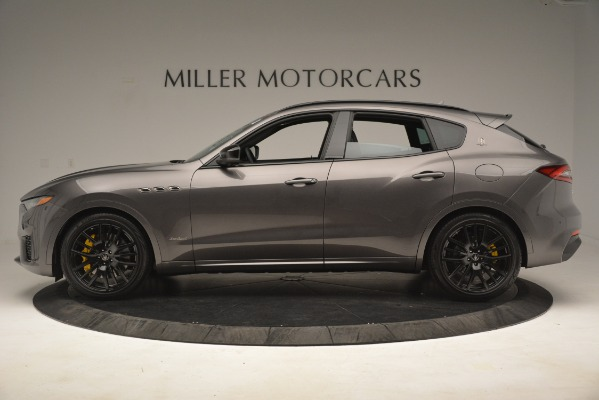New 2019 Maserati Levante SQ4 GranSport Nerissimo for sale Sold at Pagani of Greenwich in Greenwich CT 06830 3