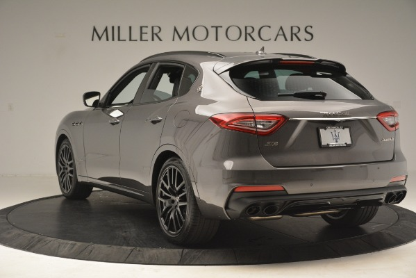 New 2019 Maserati Levante SQ4 GranSport Nerissimo for sale Sold at Pagani of Greenwich in Greenwich CT 06830 5